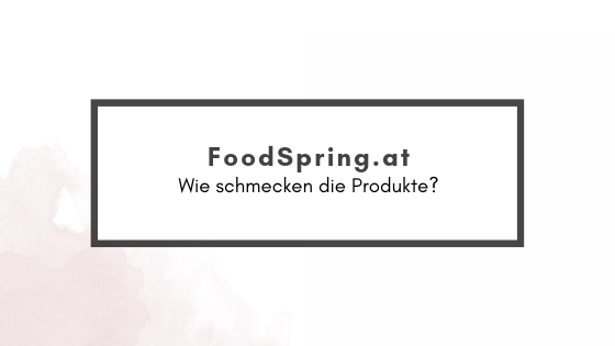 FoodSpring – Review
