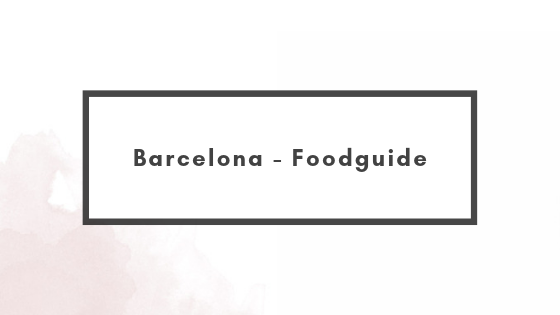 Barcelona – Foodguide