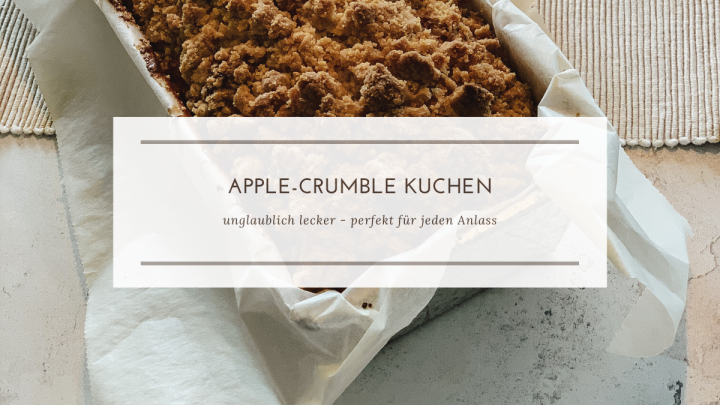 Apple-Crumble Kuchen